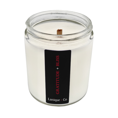 Lanique + Co Scent of Business Gratitude + Bliss Candle