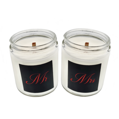 Lanique + Co Scent of Business Mr + Mrs Boss Candle
